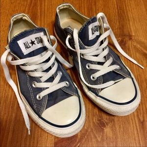 Converse All Star Blue Wash Sneakers
